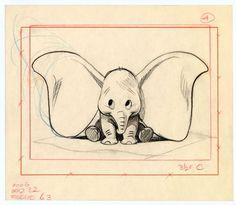 Bill Peet's Dumbo, Disney ✤: