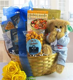 ¤ ¤ ¤ ¤ Funny Get Well Gifts for Men and Funny Get Well Gift Baskets