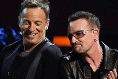 Bruce and Bono