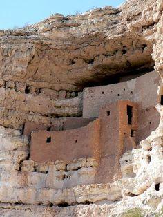 Not a Castle and Montezuma Never Slept Here…  Near Sedona, AZ