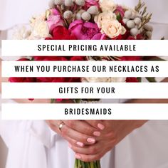 Need gift for your bridesmaids? Message us for a discount!