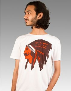 #chimp #chimpwear #design #art #organic #organiccotton #tshirt #cooltshirt #india #RedIndian Red Indian, Cool T Shirts, Design Art, Organic Cotton, How To Make, How To Wear, Guys, Mens Tops, Women