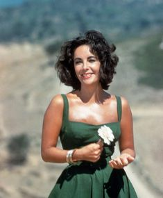 elizabeth taylor.  Young, fresh, beautiful.  Who wants to be blond when you can look like this !