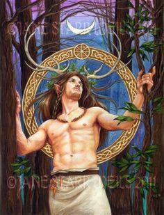 Celtic Fantasy Art | cernunnos | Fantasy art, Pagan stuff, Celtic stuff