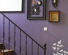 objet déco violet   Photo Deco : Violet Contemporain Maison de famille entre style ...