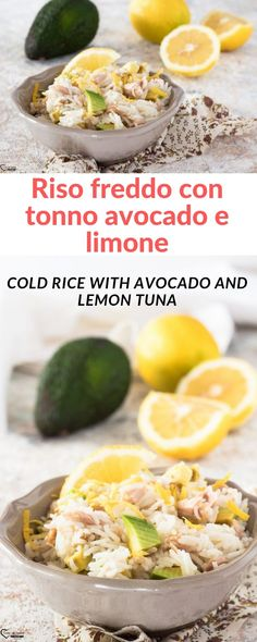 Lemon Rice, Latest Recipe, Italian Dishes, Light Recipes, Food Allergies, I Foods, Food Photography, Dinner Recipes, Easy Meals