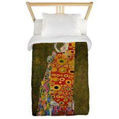 Gustav Klimt - Hope II Twin Duvet