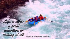 White Water Rafting - Thrilling adventure of river rafting on the rapids of the Ganges. This rapid neither too easy nor very tough so it is a recommended stretch for first-timers who are adrenaline junkies. 2 Days Trip, Weekend Trips, Weekend Getaways, Short Vacation, Nainital, Travel Tours, Greatest Adventure, Historical Sites, Rafting