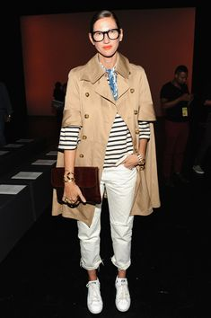 Jenna Lyons Photos - Prabal Gurung - Front Row - Spring 2016 New York Fashion Week: The Shows - Zimbio