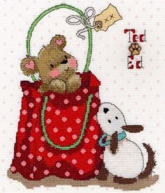 In the Bag - Margaret Sherry cross stitch kit