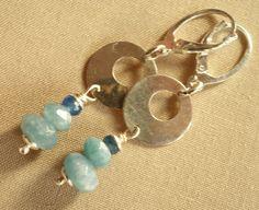 925+Silver+Blue+Quartz+Earrings+-Tilia+from+TILIA+by+DaWanda.com