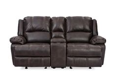 The CLUB Console 2 Seater Recliner has a casual reclining love seat that features comfortable bucket seats and a convenient console armrest for a classy couch to prop on while watching a movie or your favourite sport.