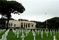 Anzio War Cemetery , Italy. Thousands of American soldiers are buried here, including my uncle, WWII, 1944. Battle of Anzio Beach