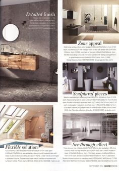 Shower screens and enclosures available from Alternative Bathrooms alternativebathrooms.com Grand Designs September 2014