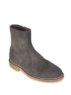 timeless design ed790 81d01 Fulfilled by  Saks Fifth Avenue - Go-to suede textured chukka boots adds  style - Suede upper - Round toe - Side zipper closure - Padded insole -  Rubber sole ...