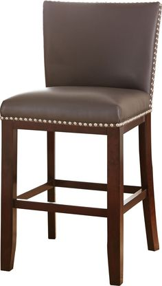 "Tiffany 24"" Bar Stool with Cushion"