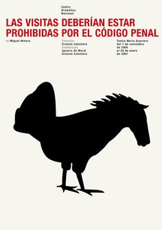 """""""Soliloquy of the Absurd"""". Posters from Isidro Ferrer. August Strindberg, Cartoon Tv, Graphic Design Posters, Visual Identity, Editorial Design, Surrealism, Collage, Design Inspiration, Animals"""