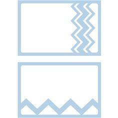 Silhouette Design Store - View Design #28907: cards - chevron