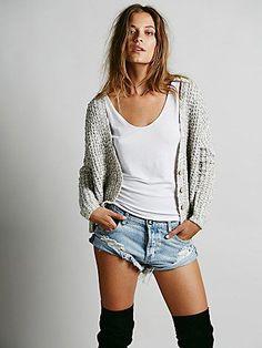 072576f29b46 Free People High Low Cardigan Free People Cardigan, Sweater Outfits, Boho  Outfits, Sweater