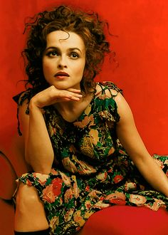 Helena Bonham Carter, mannnn.  She's so just... cool.  She does and wears what she wants and people love her for it.