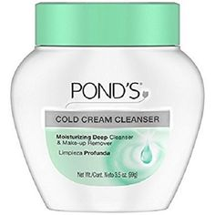 Deep cleans & removes make-up Suitable for sensitive skin Dermatologist tested More oz Pond's the cool classic cold cream oz. Deep cleans & removes make-up. Suitable for sensitive skin. Austin Mahone, Cream For Dry Skin, Skin Cream, Best Drugstore Face Moisturizer, Ponds Cold Cream, Facial Cleansers, Moisturizers, Make Up Remover, Deep