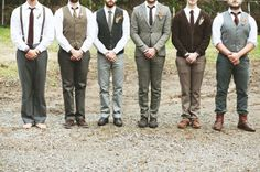 Basically, you can try to look like Mumford and sons...