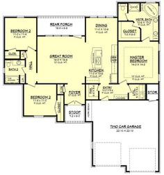 13 Best 1700 1800 Sq Ft House Images Ranch House Plans
