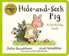 Book People favourites Julia Donaldson and Axel Scheffler's Tales From Acorn Wood: Hide & Seek Pig is a charming lift-the-flap book that is ideal for introducing little ones aged 0 and above to the world of books.