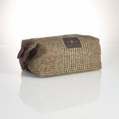 Tartan Wool Shaving Kit - Polo Ralph Lauren Travel Accessories - RalphLauren.com