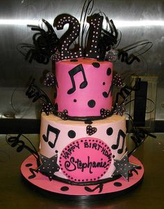I would love this cake....(not to be 21 again though). And it already has my name on it!