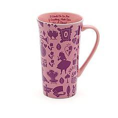 Mug fantaisie Alice au Pays des Merveilles, Le Monde de Disney | Disney StoreMug fantaisie Alice au Pays des Merveilles, Le Monde de Disney - Laissez vos pens�es s'envoler vers des endroits merveilleux, en sirotant une boisson dans ce grand mug Alice au Pays des Merveilles. Il est couvert de motifs du c�l�bre film d'animation, avec le Chat du Cheshire cach� � l'int�rieur.