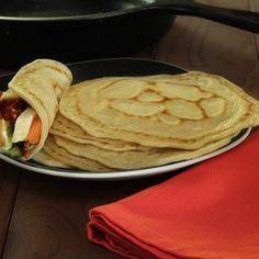 Paleo & Gluten-Free Tortillas Recipe #glutenfree #grainfree #paleo