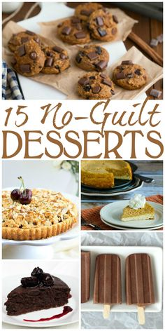 Satisfy your sweet tooth with these Easy to make Guilt-Free Desserts! I've rounded up some awesome healthy treats from other posters, plus a couple of my own. Enjoy these gluten-free options! Diabetic Desserts, Sugar Free Desserts, Healthy Desserts, Healthy Recipes, Gourmet Recipes, Dessert Recipes, Quick Dessert, Low Sugar Cakes, Roasted Figs