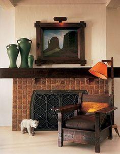Diane Keaton's restored Wallace Neff designed home.