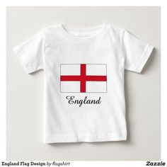 England Flag Design Tee Shirts