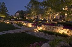 Lawn Tigers Landscaping can give your home or office the perfect outside accent lighting!  They will create for you whatever type of ambiance you'd like!  If you need some landscaping done around your house or workplace, call Lawn Tigers Landscaping in Walled Lake, MI at (248) 669-1980 to schedule an appointment TODAY or visit our website www.lawntigers.net for more information!