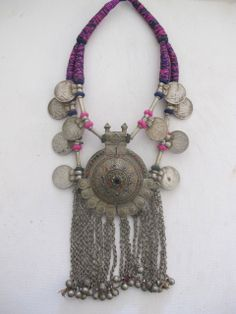~ Cleopatra necklace - vintage tribal jewellery