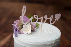 Love Cake Topper {COLOURS CUSTOMIZABLE}-  Party, Wedding, Party Decor, Cake Decor, Photo Prop, Centrepiece, Anniversary, Cake Smash by CutPartySupplies on Etsy Love Cake Topper, Cake Toppers, Cake Smash, Party Wedding, Photo Props, Party Supplies, Card Stock, Cake Decorating, Centerpieces