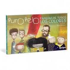 Puro Pelo - Familias de todos los colores Cover, Books, Movie Posters, Art, Families, Caricature, Colors, Livros, Craft Art