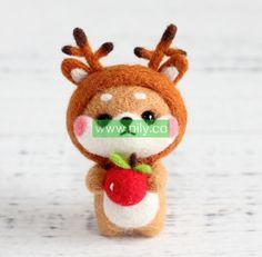 Where to buy Needle Felting Kits Needle Felting Supplies, Starter Kit, Make It Yourself, Wool, Christmas Ornaments, Holiday Decor, Stuff To Buy, Christmas Jewelry, Christmas Decorations