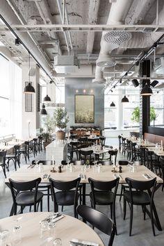 Best Restaurant Design / restaurant design, hospitality design, best restaurants #restaurantdesign #hospitalitydesign #bestrestaurants  Enjoying it? Find more here: http://brabbucontract.com/projects