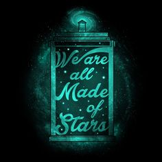 Made of Stars T-Shirt $12 Doctor Who tee at Blue Box Tees!
