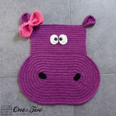 Ravelry: Hippo Rug pattern by Carolina Guzman