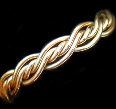 $350 Five Strand Twist Weave Braided Rings-   this but in white gold