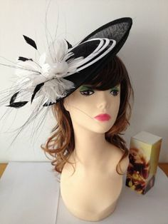 2014 Newest Designer Black with Feather Corsage Saucer Fascinator Hat, for Church, Derby, Wedding, Easter5 easter hat,http://www.amazon.com/dp/B00J2706F6/ref=cm_sw_r_pi_dp_EmdBtb1K2444DZ3J