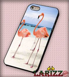 "Flamingo birds for iPhone 4/4s, iPhone 5/5S/5C/6/6 , Samsung S3/S4/S5, Samsung Note 3/4 Case ""007"""