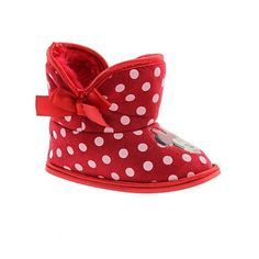 slipper boots, minnie mouse