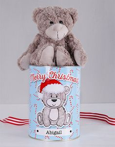 Looking for Christmas gift ideas for her? Why not treat her to something cute and cuddly? This Christmas teddy bear is a gift she'll treasure for years to come. Christmas Gifts For Girlfriend, Christmas Gifts For Friends, Christmas Gifts For Mom, Teddy Bear Gifts, Christmas Teddy Bear, Incredible Gifts, Festive, Best Gifts, Merry