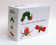 Children's Favorites--ERIC CARLE'S VERY LITTLE LIBRARY by Eric Carle--the timeless THE VERY HUNGRY CATERPILLAR, THE VERY LONELY FIREFLY, and THE VERY BUSY SPIDER make a collection essential for every new baby, and every child beginning the road to reading.