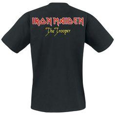 """Iron Maiden T-shirt """"Trooper Eddie"""" zwart • Large"""